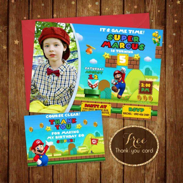 Super Mario Image Listing Invite